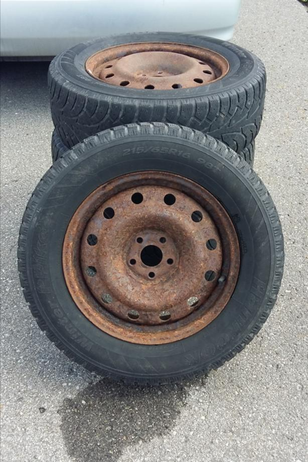 RIMS for sale (4) with tires