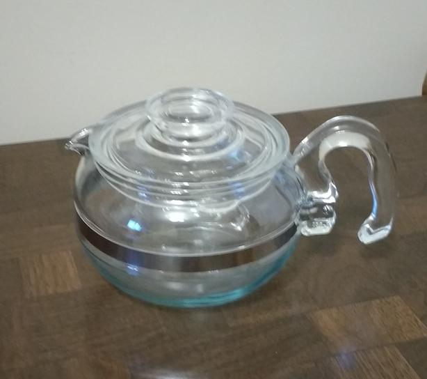 VINTAGE PYREX TEA POT