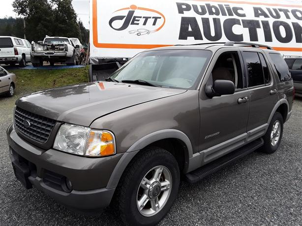 2002 Ford Explorer XLT 4X4 unit selling online and onsite saturday!