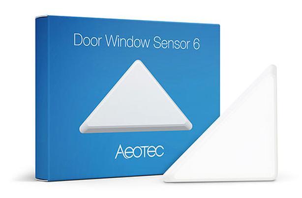 Aeotec Zwave Z-wave Door Window Sensor 6, Triangle Slim +++