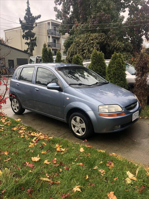 2005 chevy chevrolet aveo owners manual