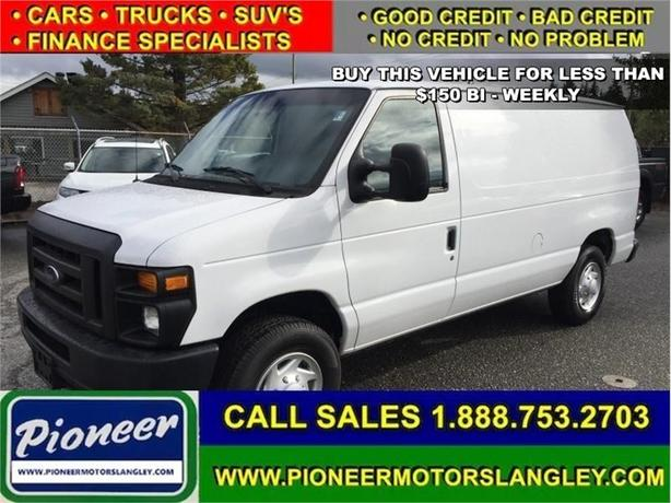 2012 Ford Econoline Cargo Van TOW PACKAGE - SHELVING - AC -  PW GROUP