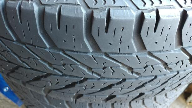 Winter tires on rims (205/60R16) from Ford Focus 2012