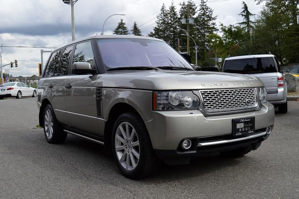 2011 Land Rover Range Rover HSE LUX SC - LOCAL / BOARDS