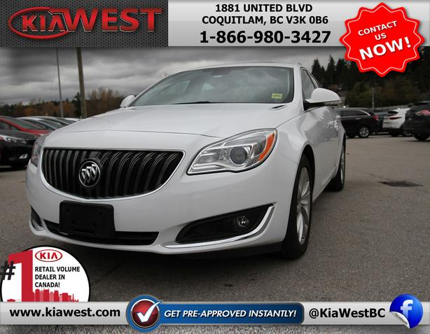 2016 Buick Regal 2.0L AWD