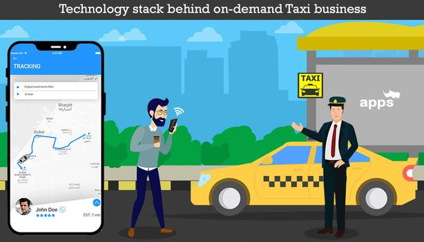 Mobile App Development, On-Demand Taxi, Grocery and Logistics Apps and More