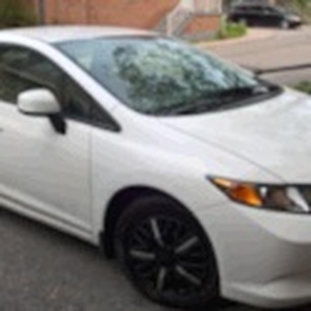 2012 Honda Civic Low Kilometres (83Km) mint condition.