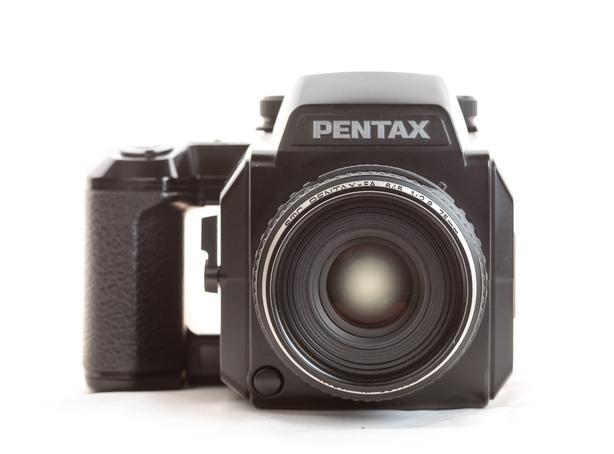 Pentax 645N 120 Film Camera with 75mm autofocus lens