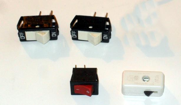 17 of Various Small Electrical AC Switches