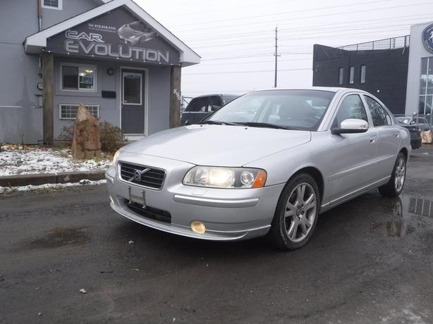 2007 Volvo S60 135km/LTHR/ ROOF, CERTIFIED+ WRTY $6990