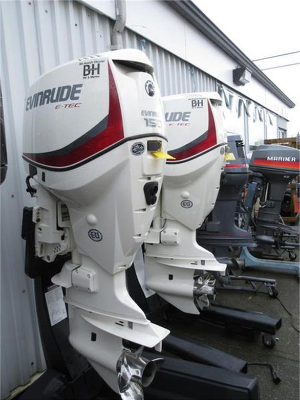 2015 Evinrude V6 150-HP E150DPX