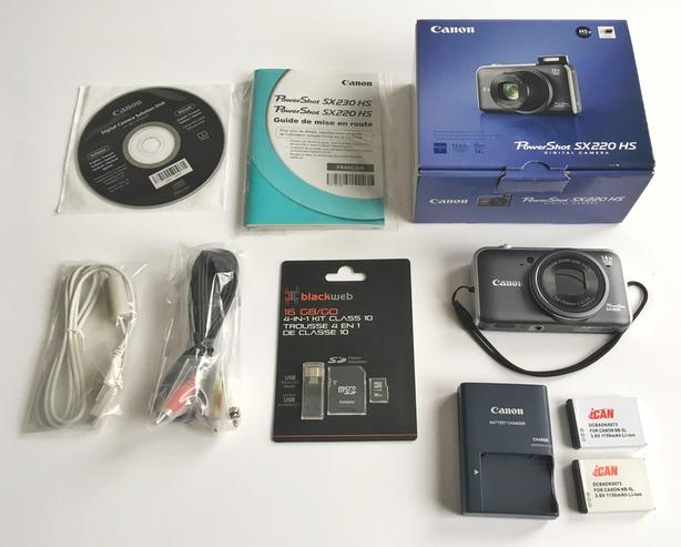 For Sale - Canon SX220HS (Used / Very Well Maintained)