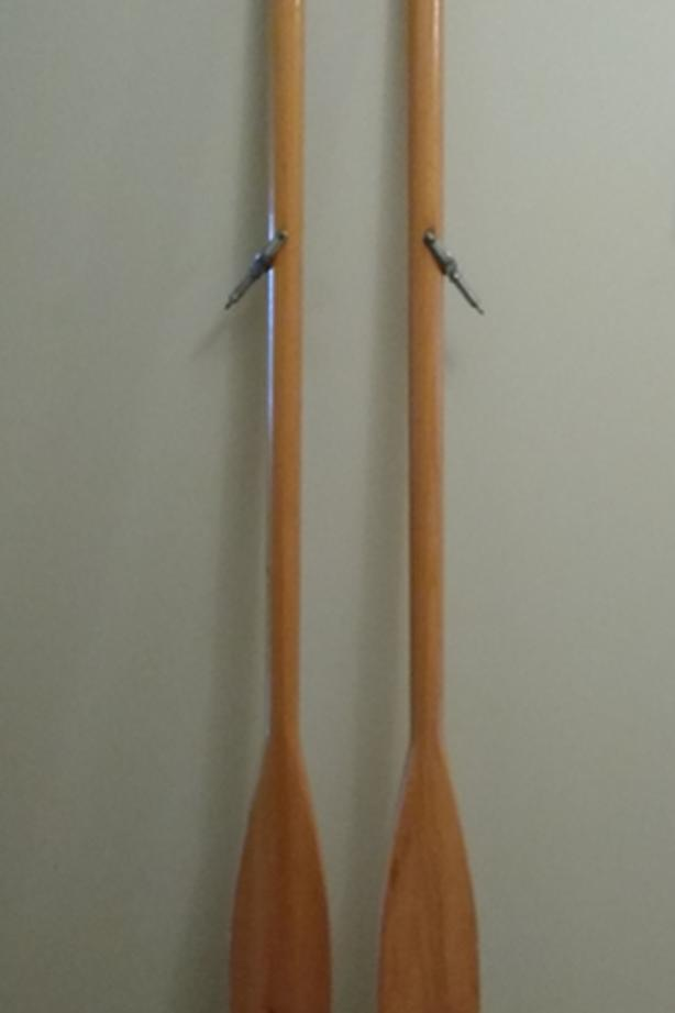 PAIR OF 6' OARS WITH OAR LOCKS