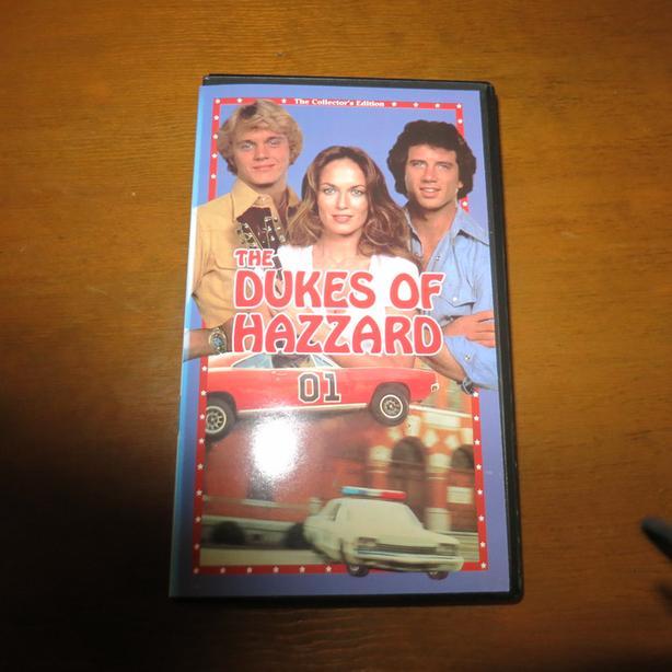 DUKES OF HAZZARD VHS TAPES