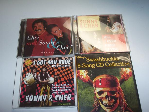 SONNY AND CHER CD'S ALL FOR $10