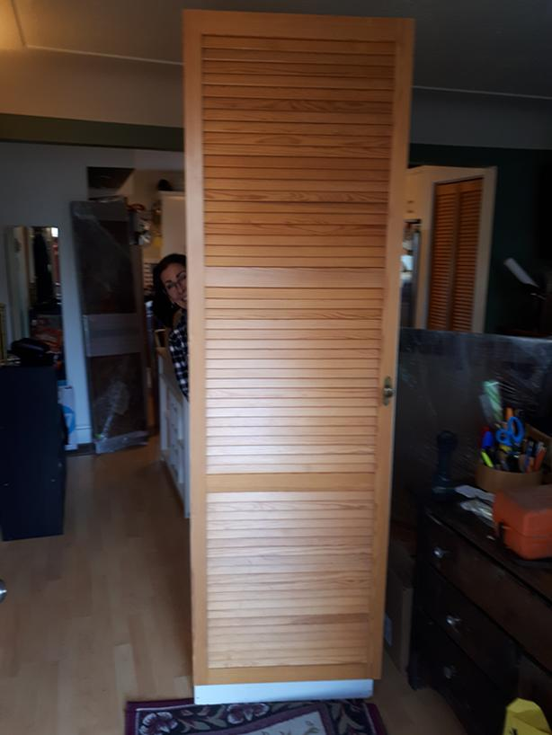 Free Louvred Door Cabinet