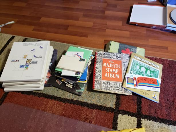 Inherited Canadian Stamp Collection