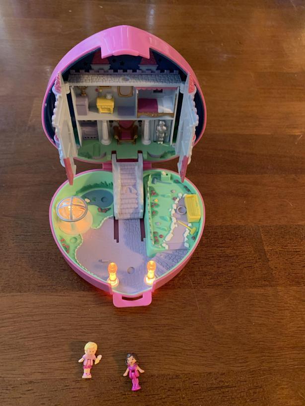 1992 Vintage Pocket Polly Starlight Castle