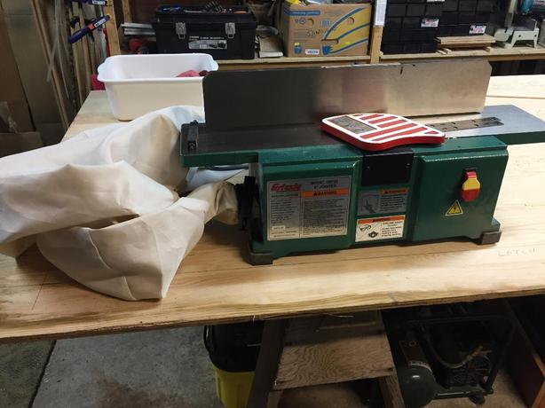 "Grizzely 6"" jointer"