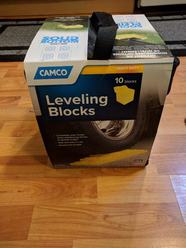 camco heavy duty leveling blocks 10 pack