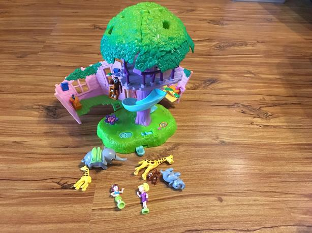 2000 Vintage Pocket Polly Jungle Pets