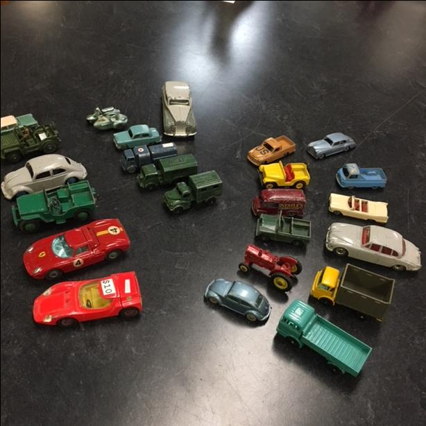 Assorted Dinkey & Lesney Toys Cars at The Old Attic