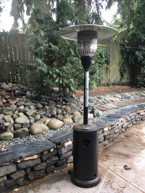 New Paramount patio heater
