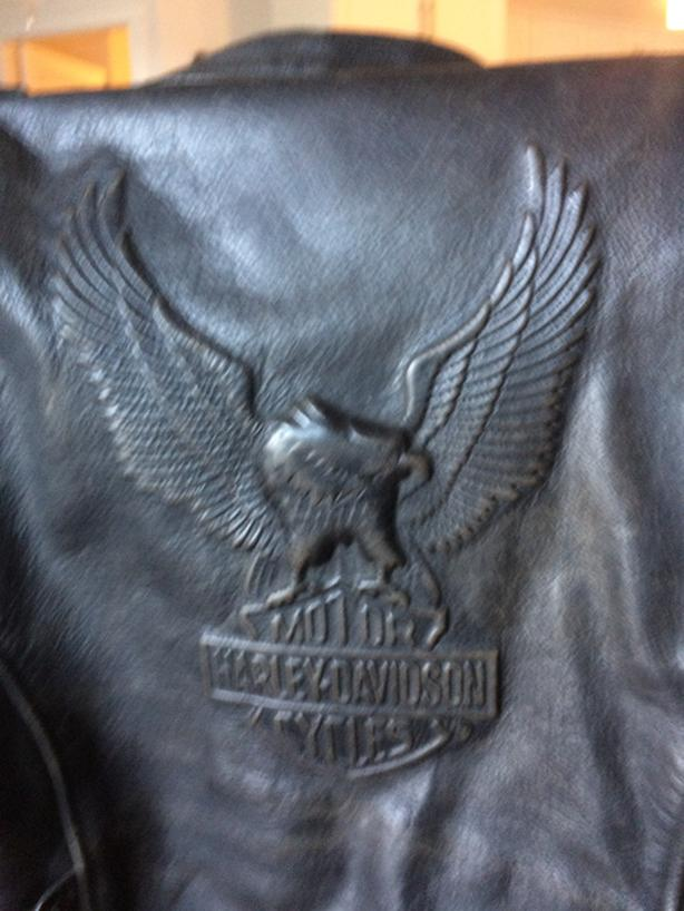HARLEY DAVIDSON LEATHER COAT