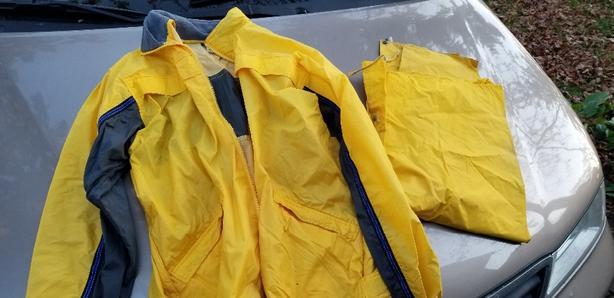 Men Rainwear size medium