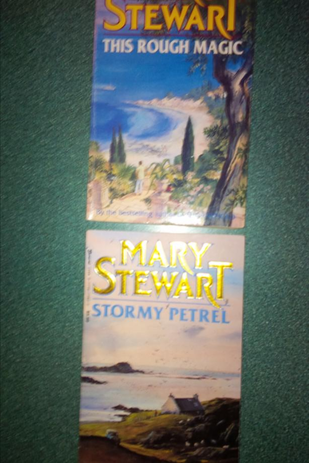 Mary Stewart books see below