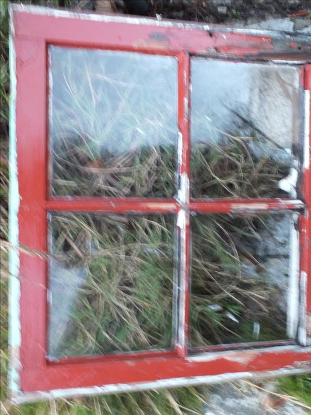 Antique Window with original Glass