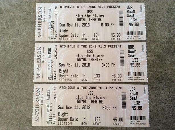 USS Tickets!!
