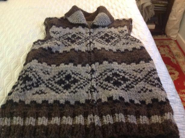 Cowichan Style Vest