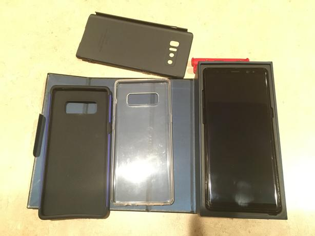 Unlocked note 8 barely used