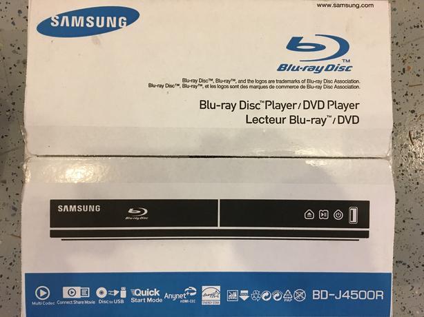 Samsung BD-J4500 Blu-ray player