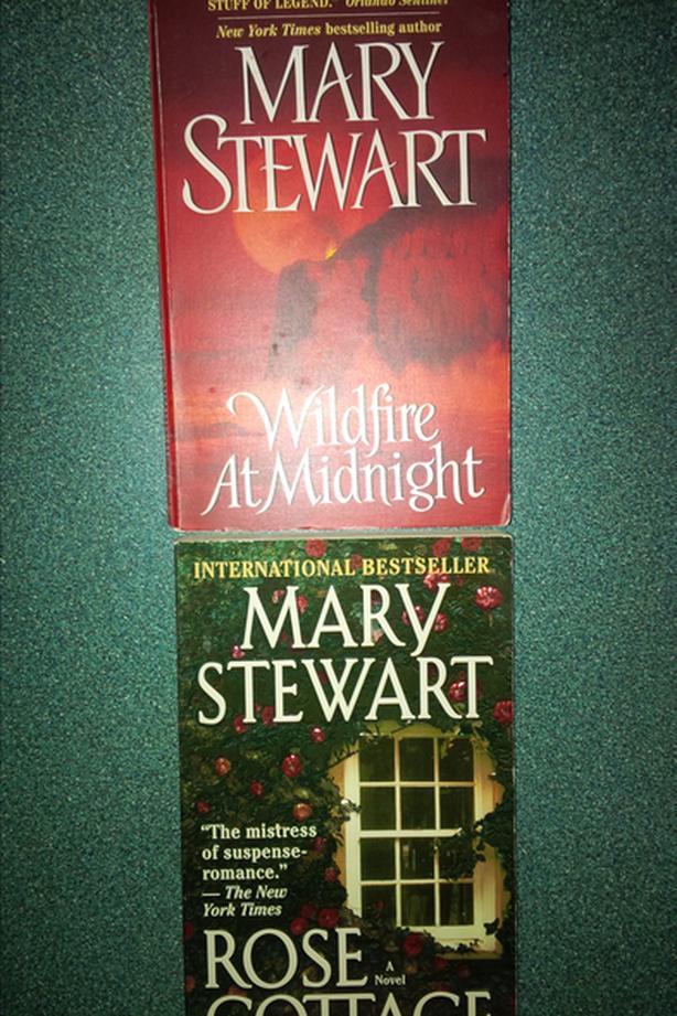Mary Stewart books see below