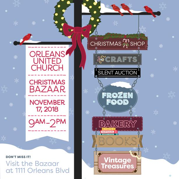 Christmas Bazaar - Orleans United Church