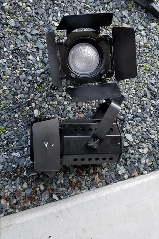Movie track lighting