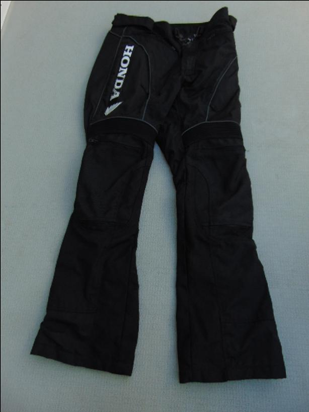 Motocross Motorcycle Armoured Pants Men's Size Medium Joe Rocket Honda