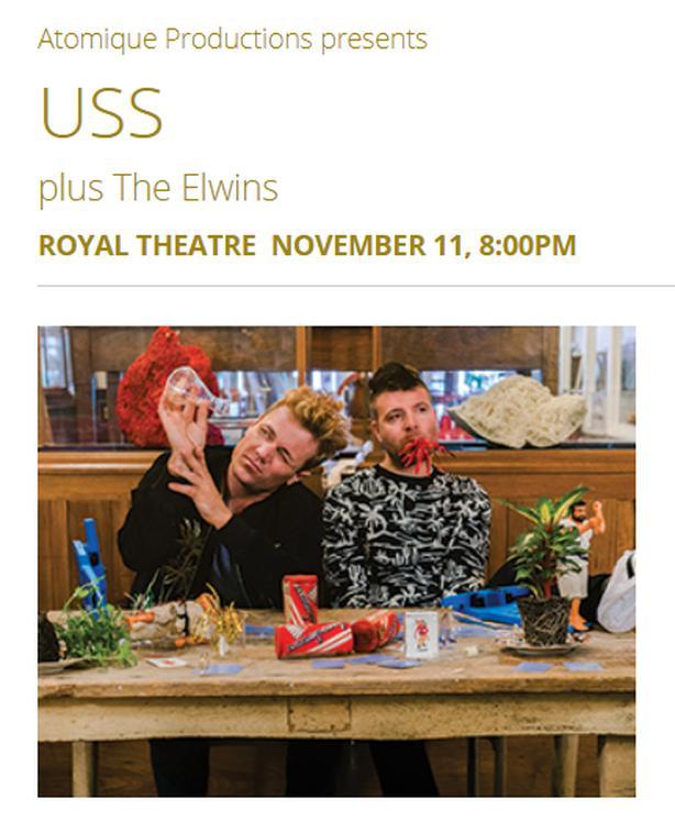 USS concert ticket Nov 11th (@cost)