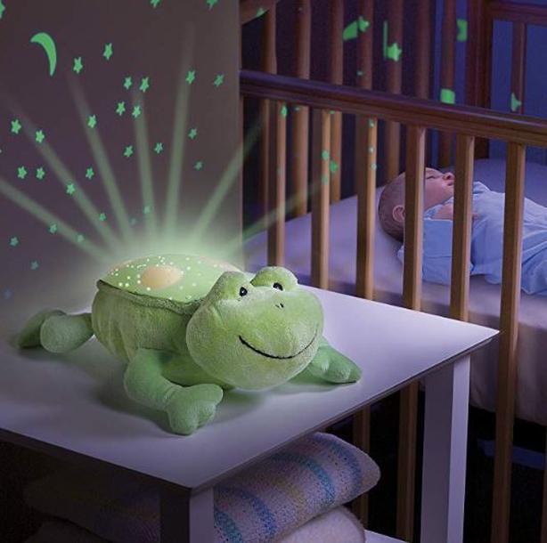 Frog Slumber Buddy Night Light Stuffy
