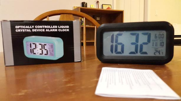 Alarm Clock - Optically Controlled Liquid Crystal