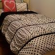 Twin four piece bedding set