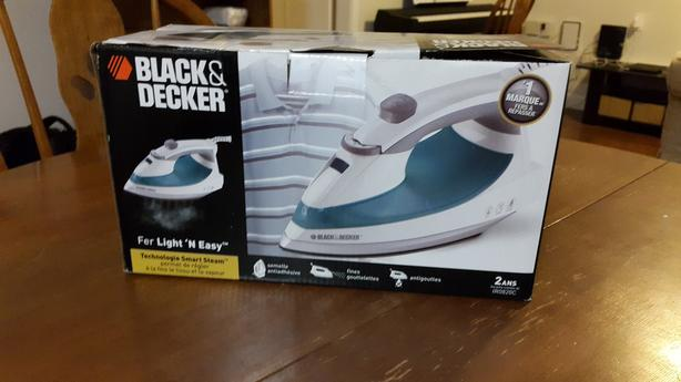 Black+Decker Iron