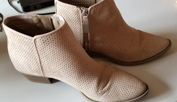 Bottes pour femme, Female Nubuck Tan Sam Edelman Booties Size 10