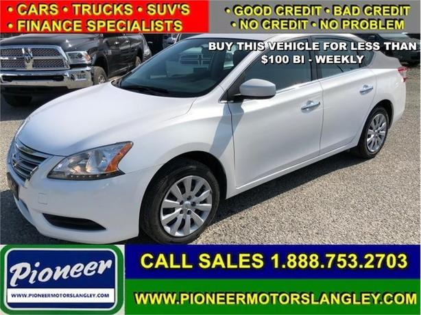 2014 Nissan Sentra S  - Easy Financing! - Low Payments!