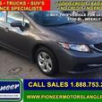 2014 Honda Civic Sedan LX  - Bluetooth -  Heated Seats - $97.69 B/W