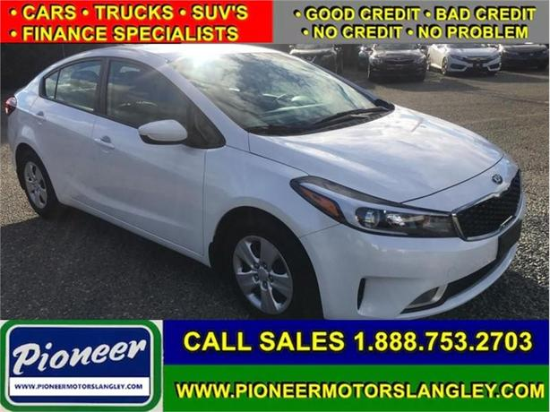 2017 Kia Forte LX+  - Easy Financing! - Low Payments