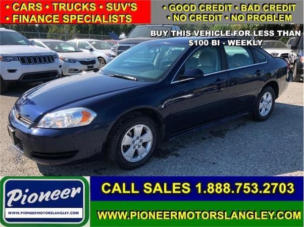 2010 Chevrolet Impala - Bluetooth -  OnStar - $83.60 B/W