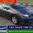 2014 Honda Civic Sedan LX  - Bluetooth -  Heated Seats - $97.69 B/W